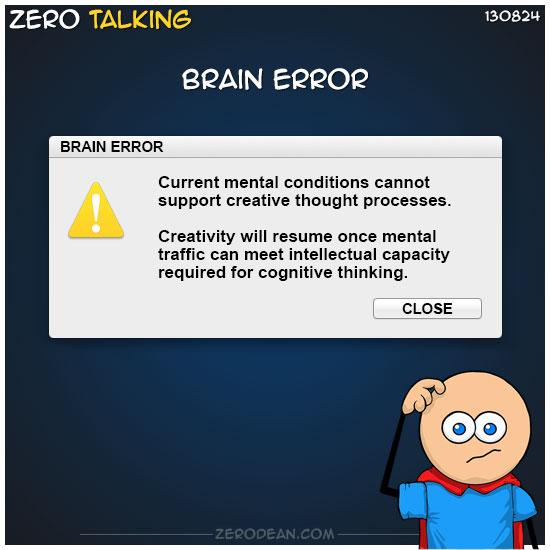 brain-error-zero-dean