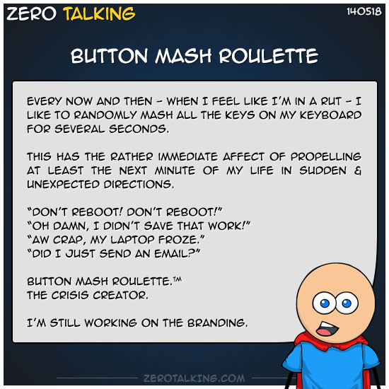 button-mash-roulette-zero-dean