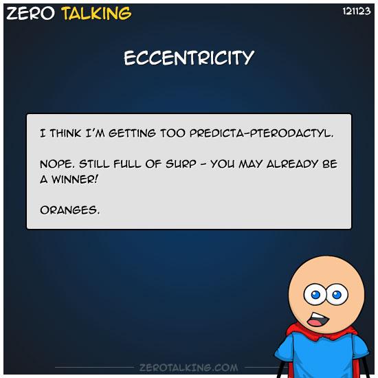 eccentricity-zero-dean