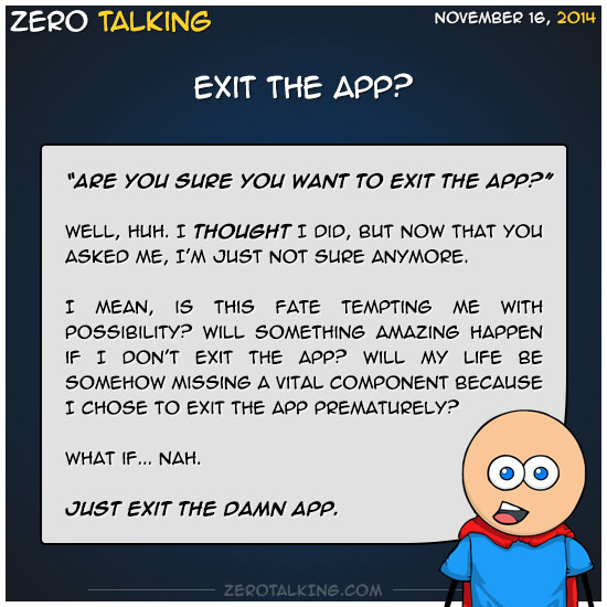 exit-the-app-zero-dean