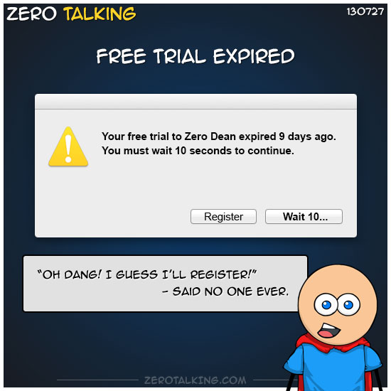 free-trial-expired-zero-dean