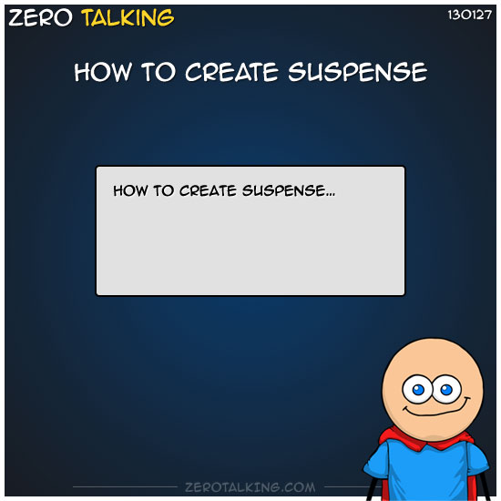 how-to-create-suspense-by-zero-dean
