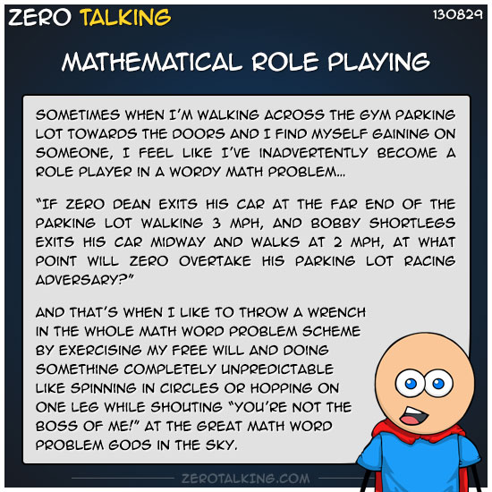 mathematical-role-playing-zero-dean
