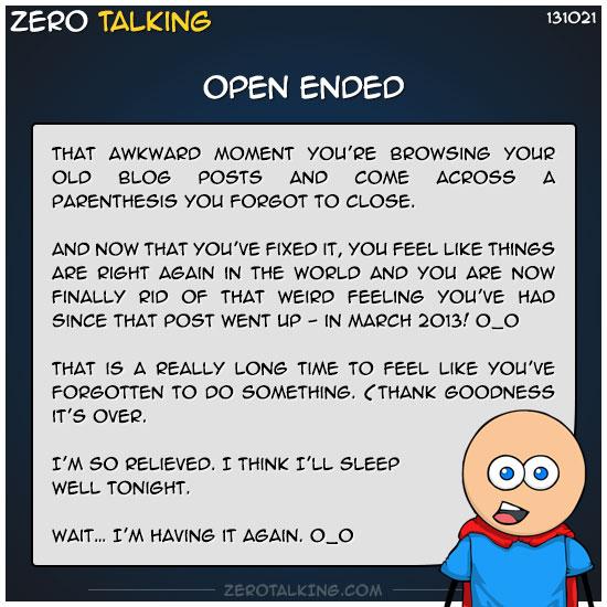 open-ended-zero-dean