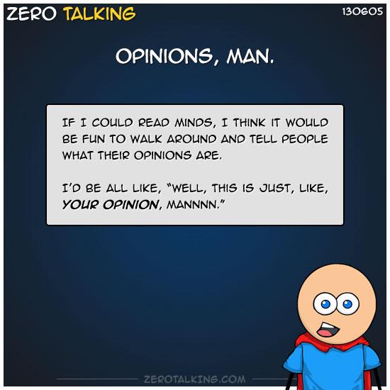 opinions-man-zero-dean