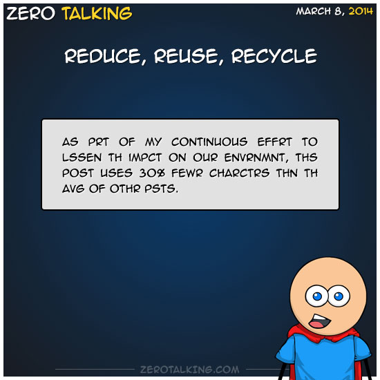 reduce-reuse-recycle-zero-dean