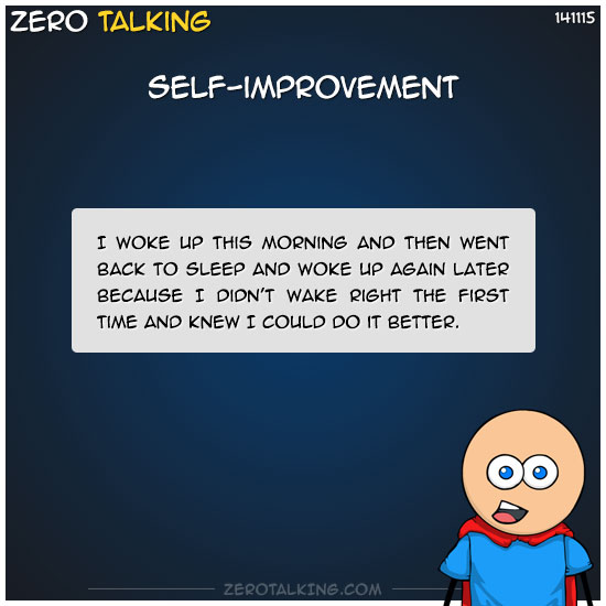 self-improvement-zero-dean