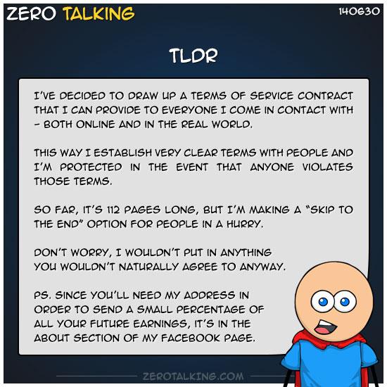tldr-zero-dean