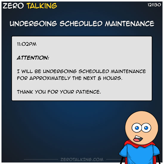 undergoing-scheduled-maintenance-zero-dean