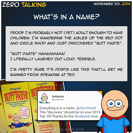 whats-in-a-name-butt-paste-zero-dean