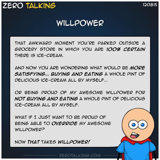 willpower-zero-dean